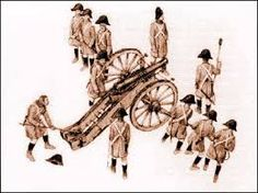 Austrian Artillery & crew  1806