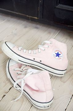 converse shoes only 19 dollars,and get one free gift Pastel Converse, Light Pink Converse, Pink High Top Converse, Pink High Tops, Converse All Star, High Top Sneakers, Cheap Converse, Pink Sneakers, Outfits With Converse