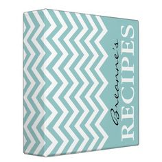 A cute recipe binder or recipe box and cards. I like this blue, retro green (like my Eugene kitchen), greys, etc.