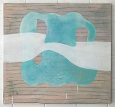 Adrienne Vaughan, Duse, 2011, Oil and enamel on canvas, 605 x 700mm