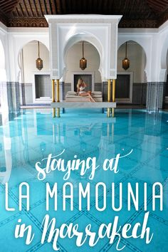 Staying at the La Mamounia Hote in Marrakech, Morocco | The Blonde Abroad
