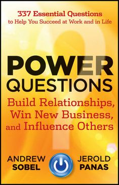 A #QEDebook Power Questions by Andrew Sobel & Jerold Panas