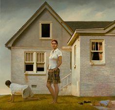 Картины by Bo Bartlett American Realism, American Artists, Magic Realism, Realism Art, Figure Painting, Painting & Drawing, Contemporary Artists, Modern Art, Claudio Bravo