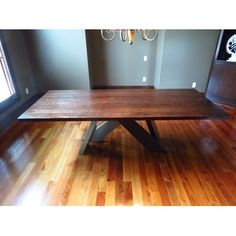 TLS by Design Custom Furniture Custom Dining Table