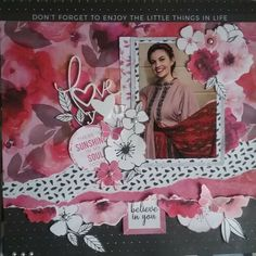 Scrapbook Albums, Scrapbooking Layouts, Morning Dew, Wedding Scrapbook, Grandparents, Magenta, Projects To Try, Marriage, Sketches