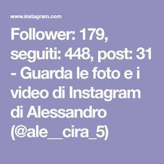 Follower: 179, seguiti: 448, post: 31 - Guarda le foto e i video di Instagram di Alessandro (@ale__cira_5) Follower, Video, Ale, Instagram, Beer, Ale Beer, Ales