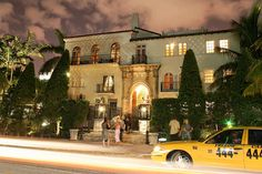 versace mansion south beach.  stopped in front back when it was a nightclub after his death.  very exclusive.