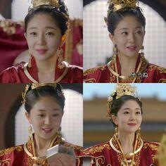 Korean Traditional, Traditional Outfits, Baek Jin Hee, Empress Ki, Chinese Clothing, Drama Series, Sari, Asian, Crown