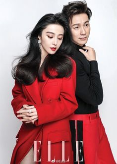 Fan BingBing and Li Chen for ELLE China 30th Anniversary Issue - February 2018