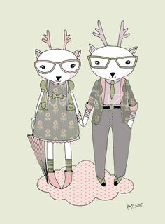 Mr and Mrs Deer