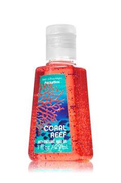 Coral Reef PocketBac Sanitizing Hand Gel - Anti-Bacterial - Bath & Body Works Bath N Body Works, Bath And Body Works Perfume, Body Wash, B Words, Smell Good, Hand Sanitizer, Body Lotion, The Balm, Health And Beauty