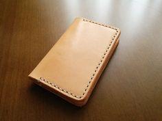 Handmade Moleskine Cover Moleskine Wallet Natural by HandmadeEK