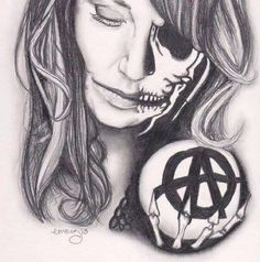 fan art Gemma Teller - Sons of Anarchy  #SonsofAnarchy #SOA #SAMCRO #RedwoodOriginal #GemmaTeller #KateySagal