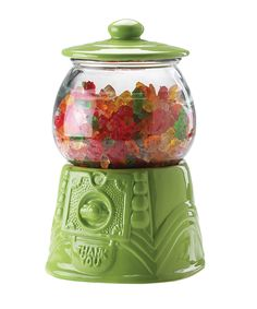 Green Gumball/Cookie Jar  by home essentials and beyond
