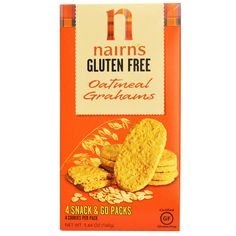 Scottish Nairn's Inc, Gluten Free, Oatmeal Grahams   - SO GOOD and carried at iherb.com (similar to Digestives)