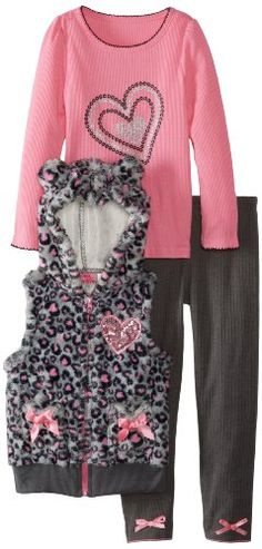 Young Hearts Girls 2-6X Three-Piece P... $11.60 #topseller