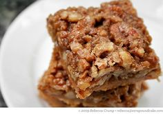 Maple-Pecan Pie Squares