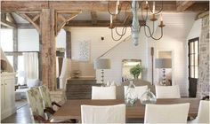 Rustic and Graceful Lake House by Tracery Interiors | Interior Design Files