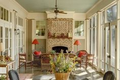 Great Sun Porch | Content in a Cottage