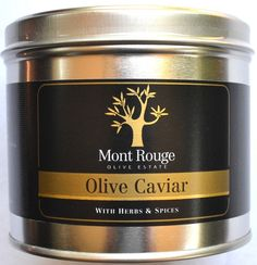 Mont Rouge Olive Caviar With Herbs & Spices 300g (Bb Aug 2015): This unique product has been dried, minced and mixed with garlic, chilli, salt & herbs.   The possibilities are endless... Try it sprinkled on salad or pizza. Add some to your dough when baking bread or mix with butter for a decadent spread. Use as a filling or topping on chicken, fish, leg of lamb. Excellent in pasta dishes! #Satooz #SouthAfrica #SouthAfrican