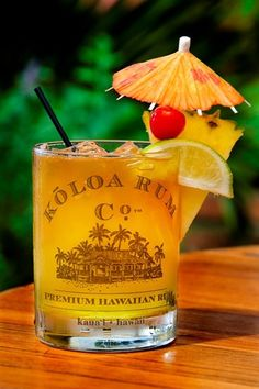 My favorite rum!!! Wish we could get it here. Koloa Rum Mai Tai http://VIPsAccess.com/luxury-hotels-caribbean.html
