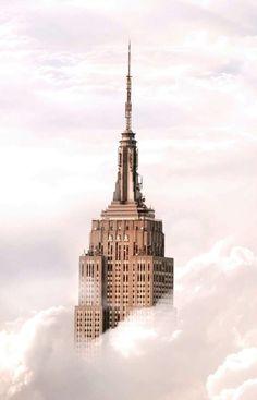 Gratte-ciel. New-York. États-Unis.