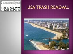 Keeping your city clean is an exertion that should be taken by the city all in all. It is not only the obligation of tenants to keep up the waste that is being created every day. USA Trash Removal constantly strives to maintain the best service.