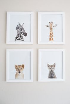 Animal framed baby mural: http://www.stylemepretty.com/living/2016/09/17/crafting-a-tranquil-nursery-amongst-the-hustle-and-bustle-of-nyc/ Photography: Meg Miller - http://megmillerphotography.com/