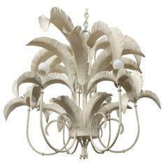 Vintage Palm Tree Chandelier