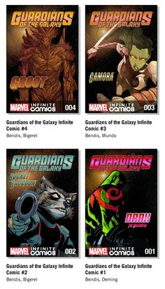 Where to start for newbies to Guardians of the Galaxy