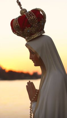 Mary Jesus Mother, Blessed Mother Mary, Mary And Jesus, Blessed Virgin Mary, Saying The Rosary, Holly Pictures, Lady Of Fatima, Queen Of Heaven, Mama Mary