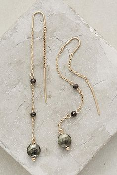 Blackfriar Threaded Earrings - anthropologie.com