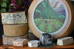 Beautiful selection of artisanal cheeses at Tastings