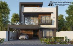 Elevation  1 House Outer Design, Best Modern House Design, Latest House Designs, Duplex House Design, House Front Design, Small House Design, Modern House Plans, Small House Plans, Architectural House Plans