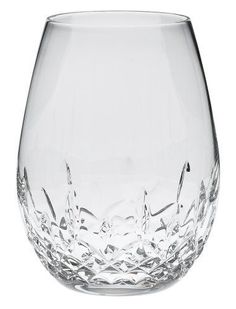 Waterford Lismore Nouveau Stemless Deep Red Wine Pair 136879 #Waterford