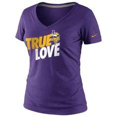 Minnesota #Vikings Nike Women's True Love T-shirt. - $27.99
