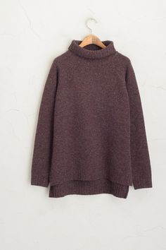 Olive - Simple Roll Neck Knit Jumper, Wine, £59.00 (http://www.oliveclothing.com/p-oliveunique-20151210-068-wine-simple-roll-neck-knit-jumper-wine)