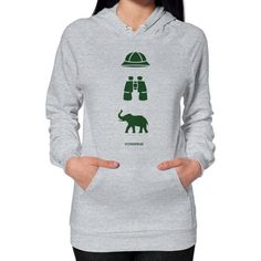 iconspeak Safari Story Hoodie (on woman) Shirt