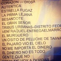 Lista de temas de Los Auténticos Decadentes del RockeaBA de Moreno, Buenos Aires. 2014