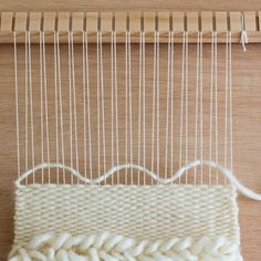 Bubbling the Weft: Techniques for keeping your weaving even and your edges neat and straight