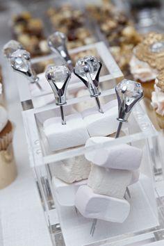 Dessert Jewelry by Connie Cupcake for Bobbie Thomas' Wedding | On SMP Weddings: http://www.stylemepretty.com/2013/12/05/bobbie-thomas-wedding | Photography: Swell Weddings