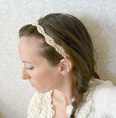 Crochet Crown Headband Pattern