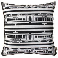 Pisama Design #Helsinki trams cushion (very expensive!)