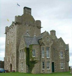 Ackergill Castle, Wick, Scotland
