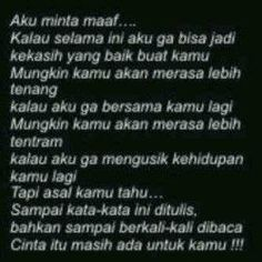 122 Best Maaf Images Quotes Quotes Indonesia Quotes Lucu