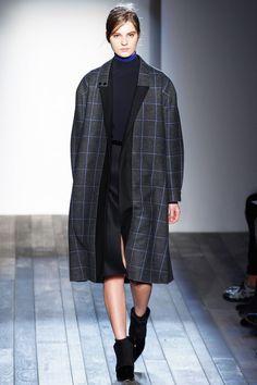 Square Net Print #Fashion #Trend for Fall Winter 2013. Victoria Beckham #fall2013 #trendy #print