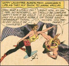 Where the Wonder Women Are: #3 Hawkgirl/Hawkwoman