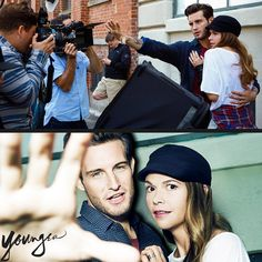Behind the scenes! We cannot wait to be back on set with these two. Are you caught up? Click to watch the latest episodes of Younger on TV Land starring Sutton Foster and Nico Tortorella.