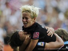 the cross - megan rapinoe
