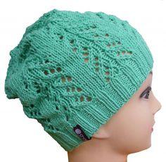 Diese leichte Strickmütze ist ideal für den Sommer geeignet Knit Crochet, Crochet Hats, Knitted Hats, Knitting, Fashion, Amigurumi, Knitting For Kids, Summer Knitting, Hand Crafts